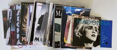 Lot 65 - MADONNA SCRAPBOOKS  / CALENDARS AND MORE.