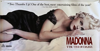 Lot 64 - MADONNA PROMOTIONAL BANNERS.