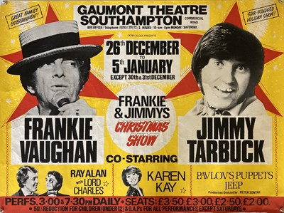 Lot 281 - EASY LISTENING / COMEDY / THEATRE POSTERS.