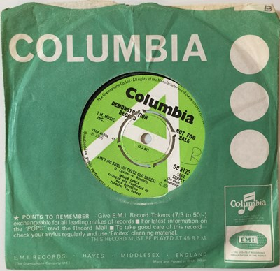 """Lot 1 - MAJOR LANCE - AIN'T NO SOUL (IN THESE SHOES) 7"""" (ORIGINAL UK DEMO - COLUMBIA DB 8122)"""
