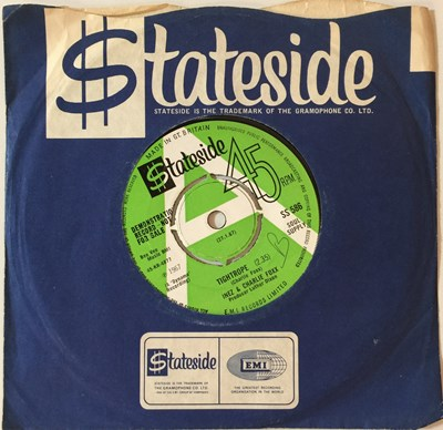 "Lot 4 - INEZ & CHARLIE FOXX - TIGHTROPE 7"" (ORIGINAL UK DEMO - STATESIDE SS 586)"
