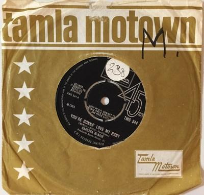 """Lot 8 - BARBARA MCNAIR - YOU'RE GONNA LOVE MY BABY 7"""" (ORIGINAL UK COPY - TAMLA MOTOWN TMG 544)"""