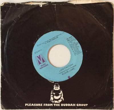 "Lot 9 - ELOISE LAWS - LOVE FACTORY 7"" (ORIGINAL US VINYL PRESSING - MUSIC MERCHANT MS 1013)"