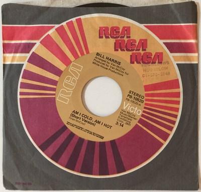 """Lot 12 - BILL HARRIS - AM I COLD, AM I HOT 7"""" (ORIGINAL US STOCK COPY - RCA VICTOR PB-10520)"""