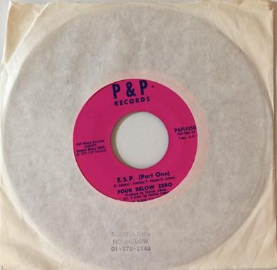"""Lot 13 - FOUR BELOW ZERO - E.S.P 7"""" (ORIGINAL US STOCK COPY - P&P RECORDS PAP-1050)"""