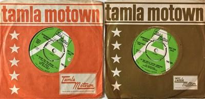 """Lot 28 - THE VELVELETTES/JIMMY RUFFIN - UK TAMLA MOTOWN TMG 593/595 7"""" DEMOS"""