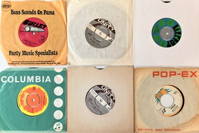 """Lot 44 - REGGAE - ROOTS/ROCKSTEADY 7"""" (UK 60s/70s WITH RARITIES)"""