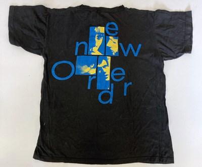 Lot 4 - NEW ORDER T-SHIRTS.