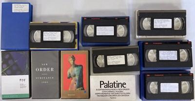 Lot 14 - NEW ORDER VHS CASSETTES.