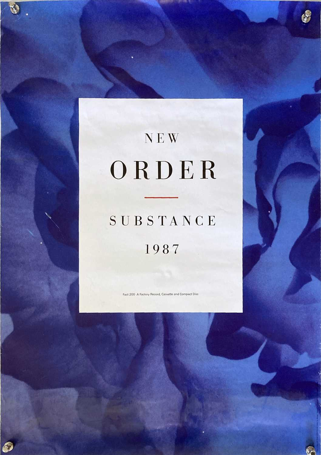 Lot 20 - NEW ORDER PROMOTIONAL POSTERS.