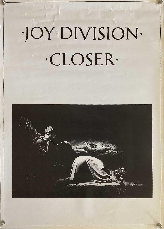 Lot 25 - JOY DIVISION CLOSER ORIGINAL POSTER.
