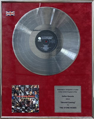Lot 206 - STONE ROSES SECOND COMING AWARD.