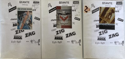 Lot 208 - STONE ROSES SEALED FRENCH POSTERS.