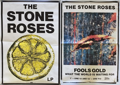 Lot 210 - STONE ROSES 1990S POSTERS.