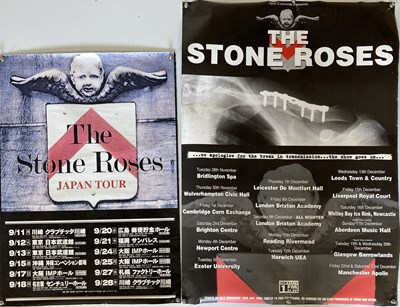 Lot 212 - STONE ROSES SECOND COMING POSTERS.