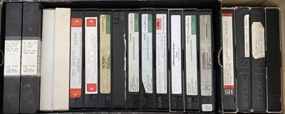 Lot 217 - STONE ROSES / IAN BROWN AND RELATED - VHS AND DVD INC PROMOS.