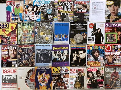 Lot 222 - STONE ROSES SCRAPBOOKS, MAGAZINE AND NEWSPAPER ARCHIVE.