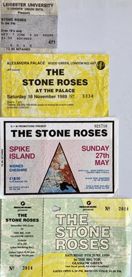 Lot 229 - STONE ROSES CLASSIC CONCERT TICKETS.