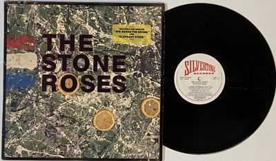Lot 300 - THE STONE ROSES - THE STONE ROSES LP (COMPLETE OG US COPY WITH PRESS RELEASE - SILVERTONE 1184-1-J)