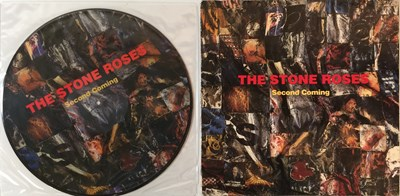 Lot 304 - THE STONE ROSES - SECOND COMING LPs (ORIGINAL EU AND PICTURE DISC COPIES)