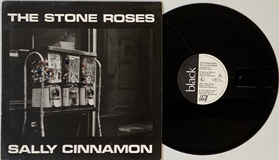 "Lot 305 - THE STONE ROSES - SALLY CINNAMON 12"" (ORIGINAL UK PRESSING - 12 REV 36 'NO BARCODE')"
