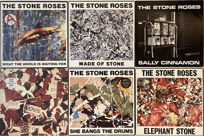 """Lot 306 - THE STONE ROSES - 12"""" SINGLES (ORIGINAL/EARLY UK COPIES WITH PRINTS INCLUDED)"""