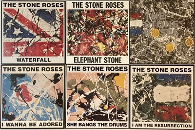 Lot 311 - THE STONE ROSES - SINGLES COLLECTION BOX SET (SRBX 2)