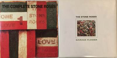 Lot 312 - THE STONE ROSES - GARAGE FLOWER/THE COMPLETE STONE ROSES LPs (ORIGINAL UK COPIES)
