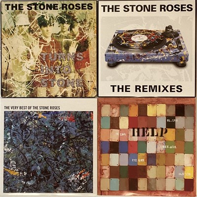 Lot 313 - THE STONE ROSES & RELATED - COMPILATION LP RARITIES