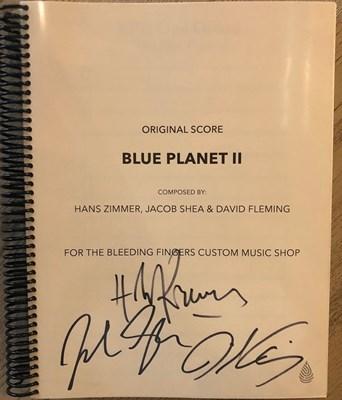 Lot 7 - BLUE PLANET II ORIGINAL SCORE & CD - HANS ZIMMER SIGNED