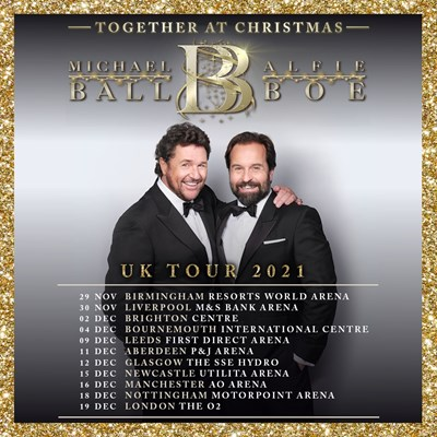 Lot 11 - MICHAEL BALL & ALFIE BOE – CONCERT TICKETS WITH MEET AND GREET