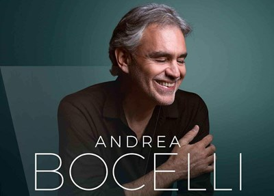 Lot 22 - ANDREA BOCELLI – CONCERT TICKETS WITH MEET AND GREET, PLUS 'BELIEVE' DELUXE BUNDLE
