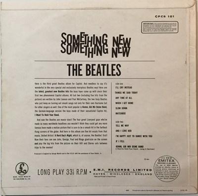 Lot 25 - THE BEATLES - SOMETHING NEW LP (ORIGINAL EXPORT COPY - CPCS 101)