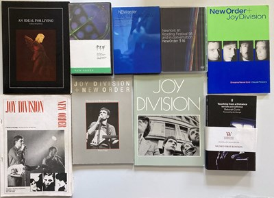 Lot 36 - JOY DIVISION / NEW ORDER COLLECTABLE BOOKS AND VHS.
