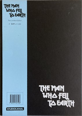 Lot 421 - DAVID BOWIE - THE MAN WHO FELL TO EARTH STUDIO CANAL LTD EDITION BOOK.