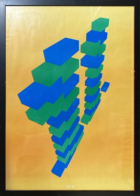 Lot 39 - FACTORY RECORDS - HACIENDA ELEVENTH BIRTHDAY PARTY POSTER.