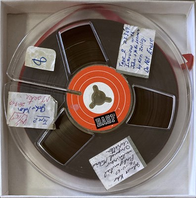 Lot 385 - THE JOHN LENNON LOST INTERVIEWS FROM 1969/70 CONDUCTED BY KEN ZEILIG