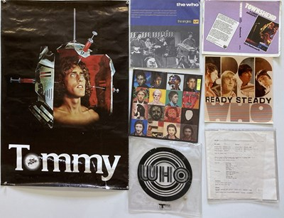 Lot 26 - THE WHO - PROMO MATERIALS / PROOFS.