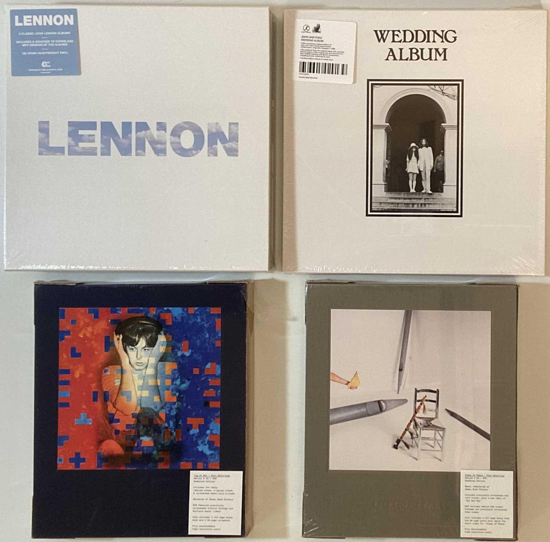 Lot 2 - JOHN LENNON/YOKO ONO - LP BOX SETS (MINT AND SEALED)