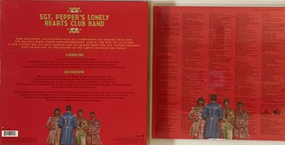 Lot 4 - THE BEATLES - SGT. PEPPER'S LONELY HEARTS CLUB BAND - CD/DVD/LP BOX SET/ANNIVERSARY EDITIONS