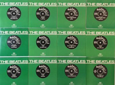 """Lot 8 - THE BEATLES - THE SINGLES COLLECTION 1962-1970 (24 x 7"""" BOX SET - 1970s RELEASE 'BLACK BOX'))"""