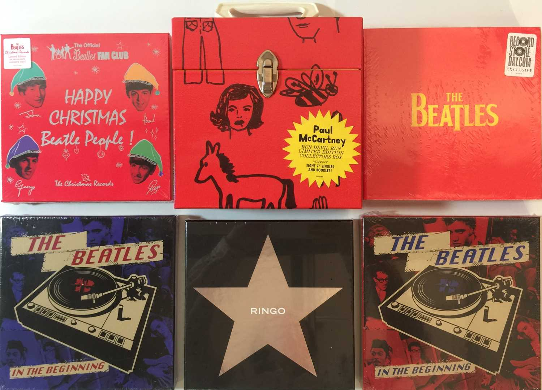 "Lot 10 - THE BEATLES/SOLO - 7"" BOX SETS"