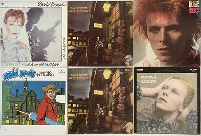 Lot 901 - DAVID BOWIE - NORTH AMERICAN/ROW/PICTURE DISCS - LPs