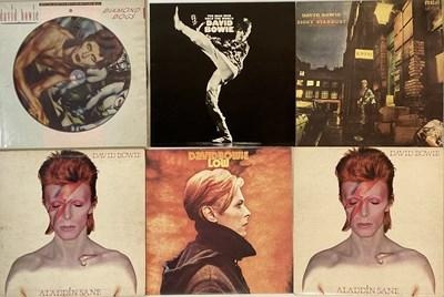 Lot 902 - DAVID BOWIE - UK PRESSING LP COLLECTION