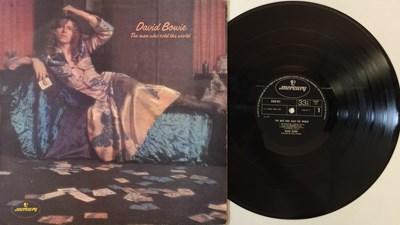 Lot 904 - DAVID BOWIE - THE MAN WHO SOLD THE WORLD LP - ORIGINAL UK 'DRESS SLEEVE' COPY - 'TONNY' (MERCURY 6338 041)