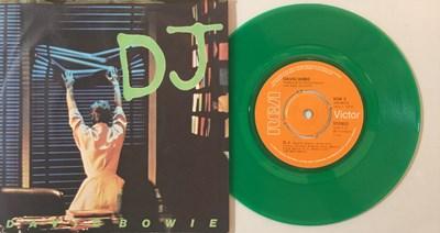 "Lot 907 - DAVID BOWIE - DJ 7"" (LIMITED EDITION GREEN VINYL - BOW 3)"