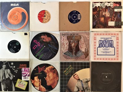 """Lot 909 - DAVID BOWIE & RELATED - UK 7"""" COLLECTION"""