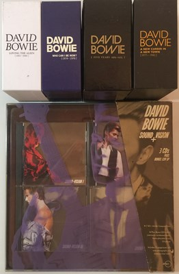 Lot 913 - DAVID BOWIE - LIMITED EDITION CD BOX SET RELEASES