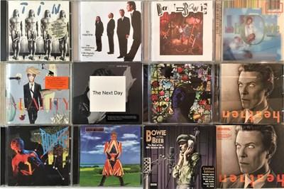 """Lot 914 - DAVID BOWIE - CD COLLECTION PLUS LP/12"""" SELECTION"""