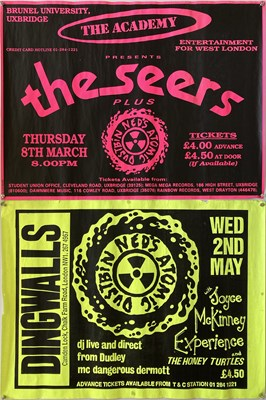 Lot 41 - NED'S ATOMIC DUSTBIN - CONCERT POSTERS.